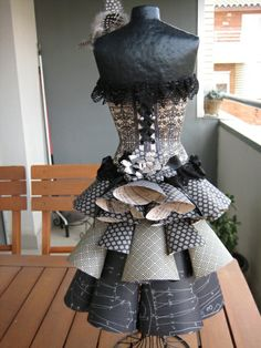 Adorable Graphic 45 Couture mannequin