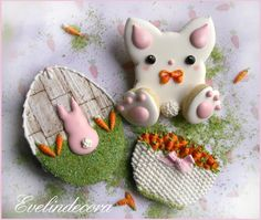 (^o^) C is for Cookie (^o^) ~ Easter Bunny Cookies