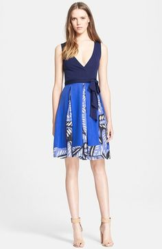Diane von Furstenberg 'Malba' Sleeveless Wrap Dress (Nordstrom Exclusive) available at #Nordstrom