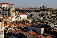 Miradouro da Vitória, Porto, Portugal by Gail at Large + Image Legacy, via Flickr