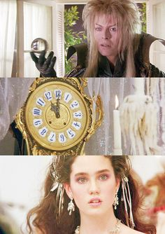"""Labyrinth. Jareth: """"You have 13 hours to solve my Labyrinth or your baby brother will be one of us. Forever."""""""