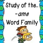 #teachers #tpt This unit provides plenty of fun, learning centered around the -ame  word family! Students will have plenty of practice learning new words, writing...