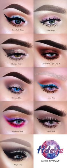 """Beautiful collection from @bambiborg. Use code """"TTDPIN"""" get 10% off. #contactlenses#coloredlenses#glitters#beautifulmakeup#eyemakeup#like4like#coloredcontacts#contactsonline#eyecontact#ordercontactsonline#cheapcontactlenses#makeuptrend#flawlesssdolls#dressyourface#influencer#bblogger#cosmeticlens#fashionmakeup#makeupworld#likeforlike#eyesmakeup#contactlenses#contactlens#makeup#makeupoftheday#ttdeye"""