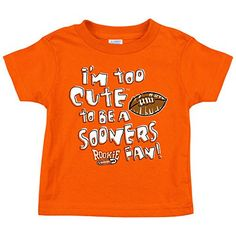 Oklahoma State Cowboys Fans. Too Cute. Toddler Tee (2T-4T)