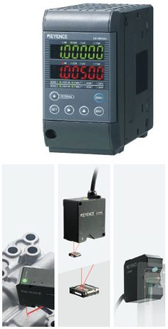Keyence LK G5000, The latest cutting-edge technology sensors for measuring distance and position with high speed, accuracy and precision