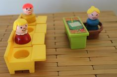 Fisher Price School House Teacher and Students