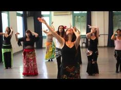 Elina's Master class: Hands and Arms in Belly Dance - YouTube