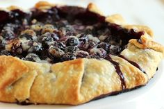 The easiest crostata ever...this Simple Blueberry Crostata comes together in minutes with the help of a ready made pie crust. Perfect for summer!