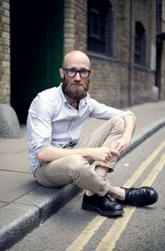 The best beard styles for bald men! If you are a bald man, then you need to grow any kind of beard! These beard styles are all pretty awesome! Bald Men With Beards, Bald With Beard, Great Beards, Awesome Beards, Full Beard, Moustaches, Shaved Head With Beard, Bald Men Style, Best Beard Styles