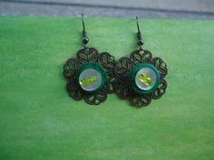 orecchini floreali