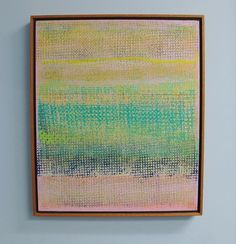 ROBERT NATKIN (Chicago, b. 1930) Oil on Canvas Painting (1970s)