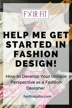 Me Get Started in Fashion Design! Need help getting started in the field of fashion design? First things first, its important to develop your own individual perspective as a fashion designer. In this post and its free workbook, I walk you through a series Nancy Reagan, Beginner Sketches, Become A Fashion Designer, Fashion Designers, Graphisches Design, Studio Design, Go To Movies, Diy Fashion, Fashion Tips