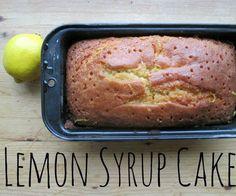 Sticky Lemon Syrup Cake