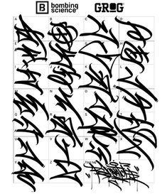 Graffiti Lettering Alphabet, Tattoo Fonts Alphabet, Graffiti Writing, Hand Lettering Art, Tattoo Lettering Fonts, Graffiti Font, Graffiti Designs, Love Graffiti, Graffiti Tagging