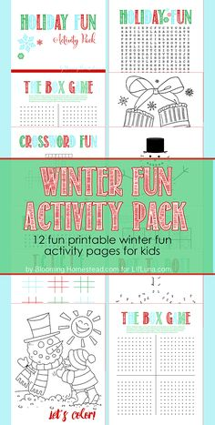 Holiday Fun Activity