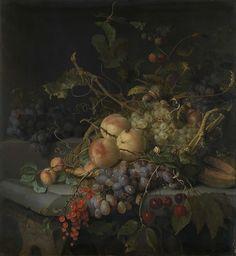 Still Life with FruitStilleven met vruchten, Jacob van Walscapelle, 1670 - 1727
