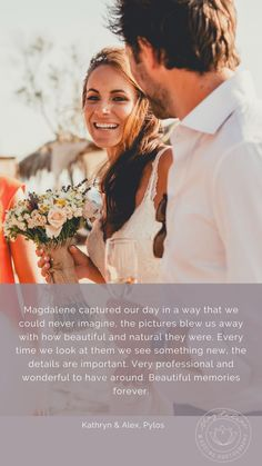 Kind words from a beloved couple that got married on Pylos, in Greece Our Wedding Day, Wedding Pics, Wedding Couples, How Beautiful, Beautiful Pictures, Greece Destinations, Destination Wedding Photographer, Got Married, Documentaries