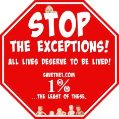 http://SaveThe1.com  1%…#TheLeastOfThese. #SaveThe1 #Yes2Life #NoToAbortion #Abortion= #Homicide #ProLife #ProVida