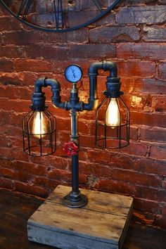 22 Creative DIY Pipe Lamp Ideas That Are Unique