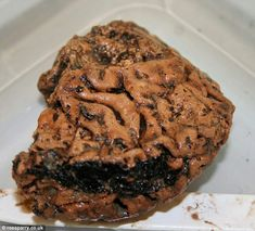 Well-preserved brain which archeologists think is nearly 3000 years old (via The Daily Mirror).