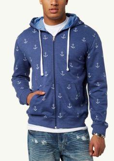 First Mate Zip Up Hoodie | Sweatshirts & Hoodies | rue21