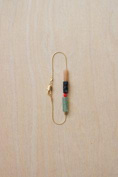 Stripe Bracelet by Debbie Carlos on Little Paper Planes