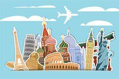 Splendid Travel Wallpaper Designs For Walls Wall Themes