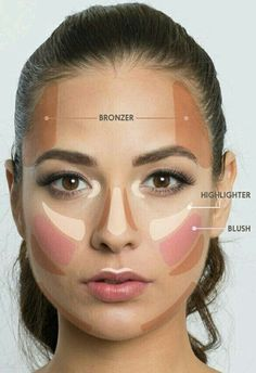 MAKE-UP step by step on We Heart It