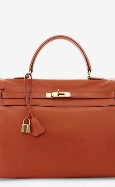 Hermès 35cm Orange Kelly