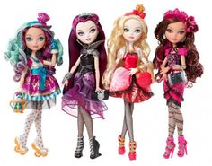 While at Mattel, i was part of the Ideation team that developed the World of Ever After High and these beautiful dolls