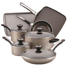 SilverStone 17 Piece Non-Stick Cookware Set