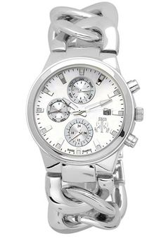 Women's Lev Quartz Silver Dial Stainless Steel