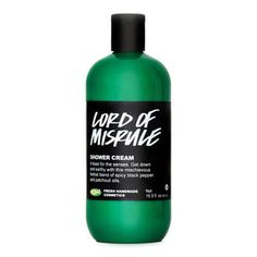Lord of Misrule LUSH shower cream