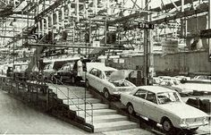 Hillmans in production at Rootes Group factory, Ryton-on-Dunsmore at Coventory Morris Marina, Europe Car, Big Six, Van Car, Road Transport, Anarchism, Car Images, Armored Vehicles, Coventry