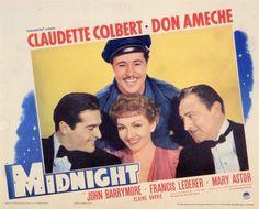 Midnight - Claudette Colbert, Don Ameche