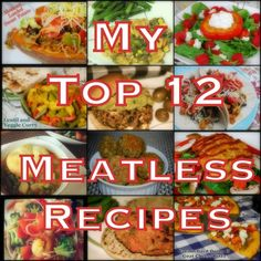 top 12 words2 My Top 12 Meatless Recipes