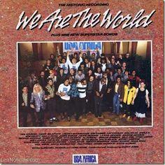 """Los 30 años de """"We are the world"""", el icónico himno contra la pobreza (Video) - http://www.leanoticias.com/2015/01/29/los-30-anos-de-we-are-the-world-el-iconico-himno-contra-la-pobreza-video/"""