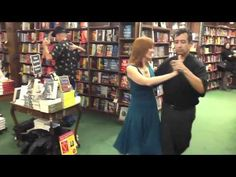 In-store reading flash milonga