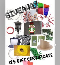 ~~~~~GIVEAWAY~~~~~ $25 Gift Certificate to Jellybean Junction ! #jellybeangiveaway  Winner to be announced Friday 12/11/15.  Two ways to enter:   1.  Follow me, Like this post and tag two friends you think would like this.  2. Every order placed at our eBay store will receive 1 entry for every $20 spent.  www.stores.ebay.com/jellibean-junction  Going on Now SALE: $5 OFF all orders $30 or More!  INCLUDING SALE ITEMS!  #gma #today #thismorning #cma #Coldplay #TheWiz #wreaths #nascar #PGA #lpga…