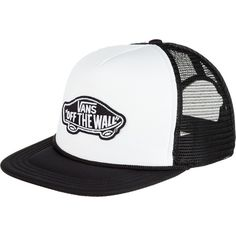 0a761029a3f Vans Classic Patch Trucker Hat ( 20) ❤ liked on Polyvore featuring  accessories