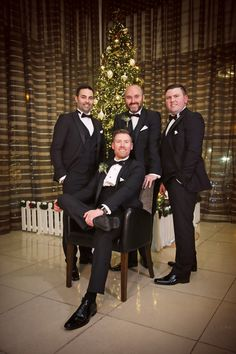 Gary and his grooms men enjoying the Christmas Lighting. Wedding Photography by Marriage Multimedia Grooms, Multimedia, February, Marriage, Wedding Photography, Bride, Lighting, City, Christmas