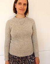 Ravelry: BETSY raglansweater med boblepynt pattern by Lene Holme Samsøe