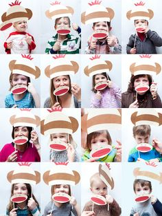 So many great ideas for a sock monkey party!  Photobooth, sock monkey paper bag puppet craft