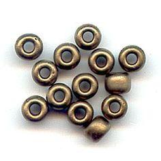 Miyuki Seed beads 8/0 2006 - Metallic Dark Bronze Mat