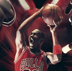 Michael Jordan - birthday by Caroline Blanchet, via Behance Michael Jordan Pictures, Michael Jordan Basketball, Nike Shoes Outlet, Kobe Bryant, Worlds Of Fun, 50th Birthday, Nba, Air Jordans, Nike Air