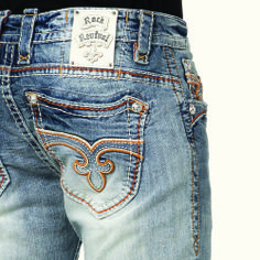 Shop the latest in Rock Revival jeans for women. Rock Revival jeans are known for their quality, fit, and unique washes. Find your new pair at Buckle.