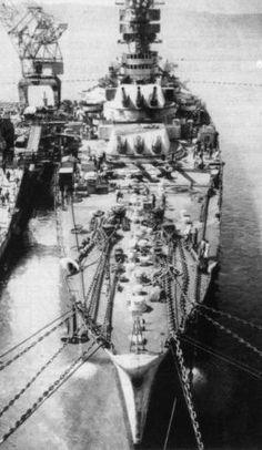 WWII ~ Italia ~ Marina Militare Corazzata Roma