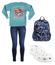 """"" by kaelyn-grace-1 on Polyvore featuring Hollister Co., Crocs and Vera Bradley"