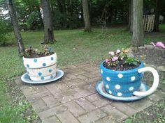 Tire teacups