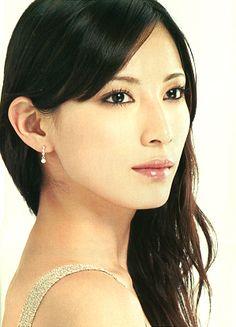 Kanebo Cosmetics Bland ALLIE 2009 (Leaflet). Model/ Ai Kato (Japanese actress).   future girl image.
